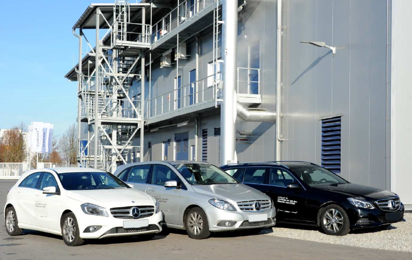 Mercedes benz will run fleet tests with clariant 39 s for Mercedes benz fleet