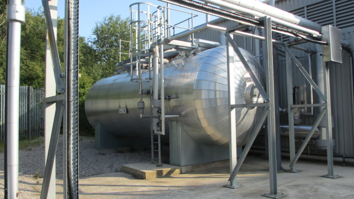 Biomass Boiler Response Gets 'Gee-up' From Steam Accumulation