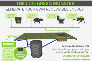 Scheme of the Little Green Monster