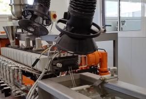 Reactive extrusion pilot plant (AIMPLAS)