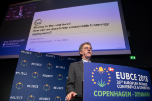 EUBCE 2018, Copenhagen, Denamrk, Closing. Adam Brown of IEA.