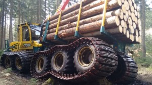 Forwarder2020 prototype at full load