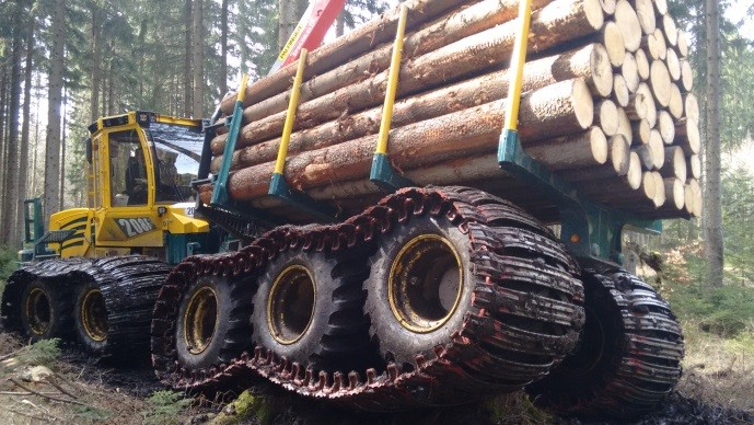 Forwarder2020: Sustainable and Efficient Forest Management