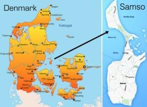 Figure 1 - Samsø Island.