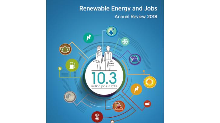 IRENA Renewable Energy Jobs Review 2018: Bioenergy 2nd Largest Source of RE Jobs Globally