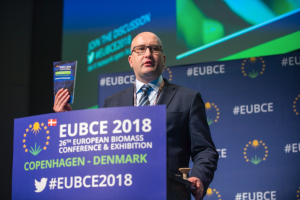 Marko Janhunen, at the 26th EUBCE 2018.