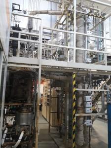 Repsol FCC pilot plant.