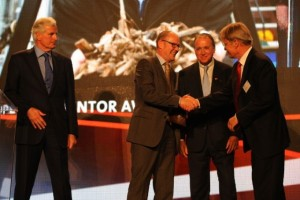 Jens Dall Bentzen receive the European Inventor Award 2011