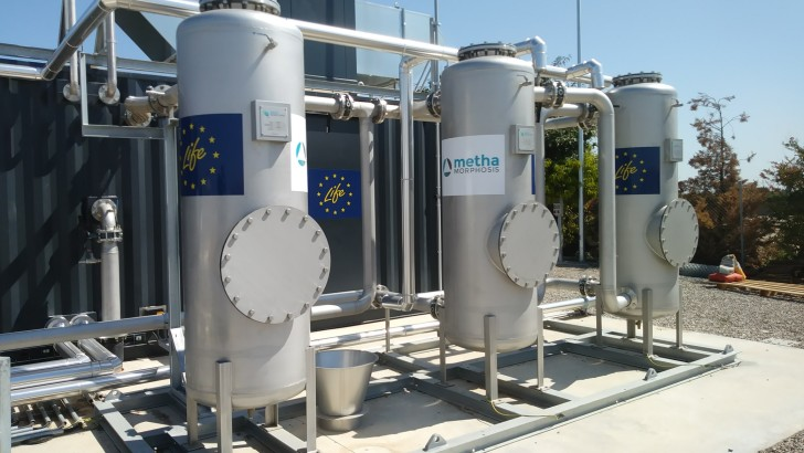 From waste to reclaimed water and biomethane for transport: LIFE Methamorphosis project