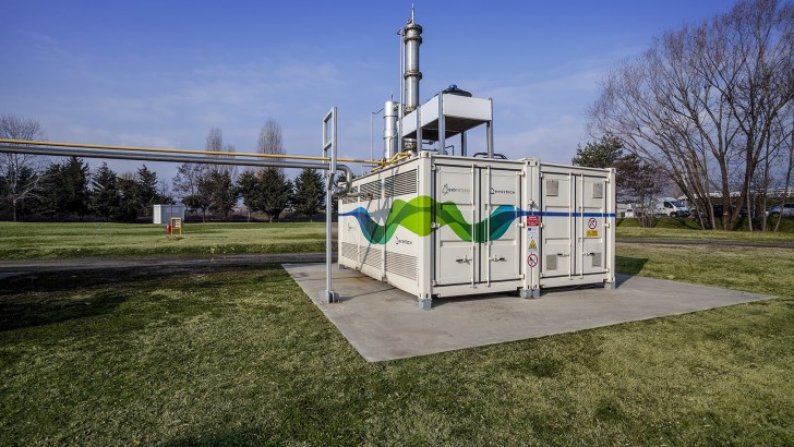 New biomethane plant from the collaboration between HYSYTECH & Acea Pinerolese Industriale